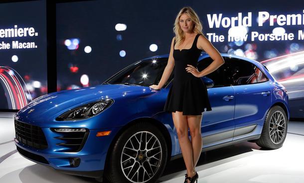 Porsche Macan Live Fotos LA Auto Show 2013 Video