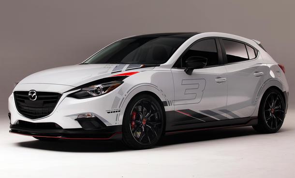 SEMA 2013 Mazda 3 Limosine Tuning Club Sport Mazda3