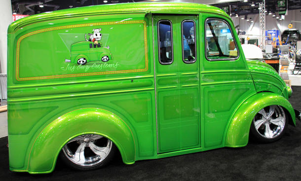 SEMA 2013 Tuning FBS Distritbution Custom Van