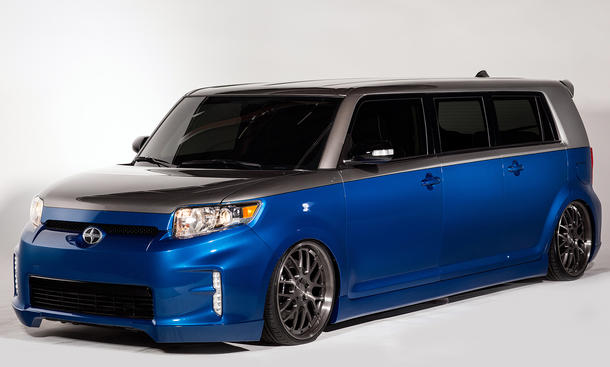 Strictly Business Cartel Scion xB 2013 SEMA Van Tuning Las Vegas