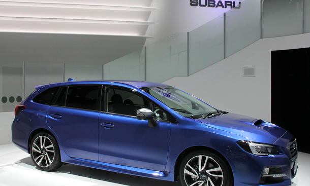 Subaru Levorg Kombi 2013 Tokyo Motor Show Live Fotos