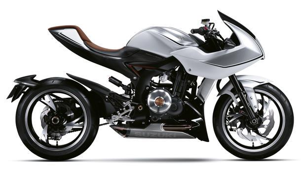 Suzuki Recursion Turbo Concept Bike Tokyo Motor Show 2013