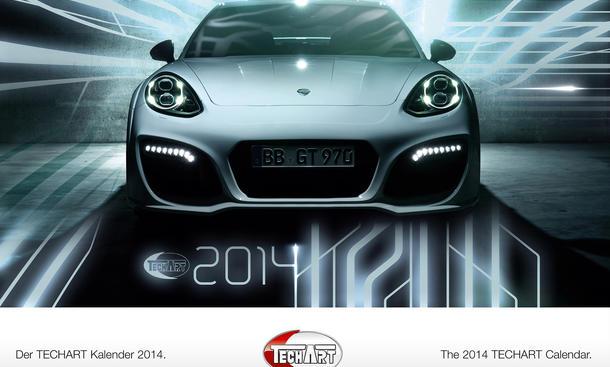 Techart Kalender 2014 Porsche Tuning Fur Die Wand Autozeitung De