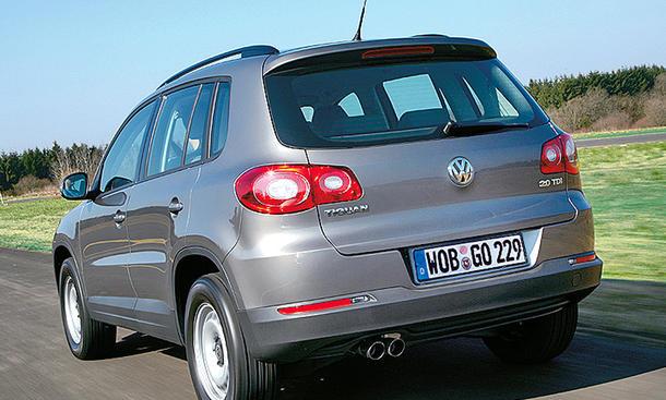 VW: Tiguan-Rückruf 2013 wegen Beleuchtung betrifft 800.000 Kunden |