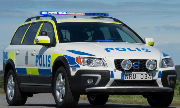 Volvo XC70 Polizei Auto D5 AWD Police Car