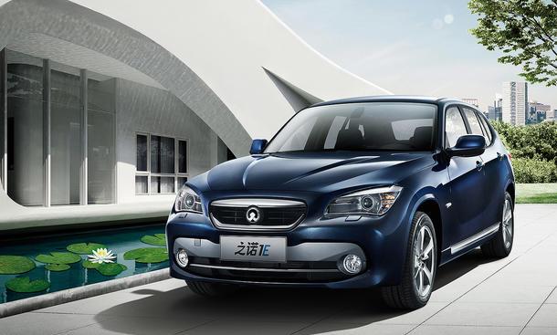 Zinoro 1e Bmw X1 Mit Elektro Antrieb Für China Autozeitungde