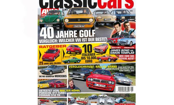 AUTO ZEITUNG Classic Cars 01 02 2014 Heft Vorschau Cover