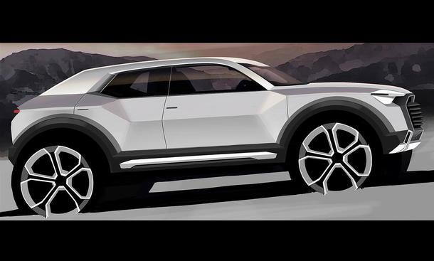 Audi Q1 2016 Marktstart City-SUV Produktion Werk Ingolstadt