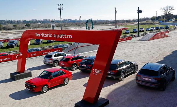 Fußballer Autos Audi Real Madrid 2013 Sponsoring Fahrzeugübergabe