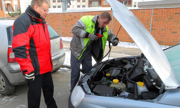 Ratgeber Auto-Batterie Winter Tipps Service Pflege Megapulse