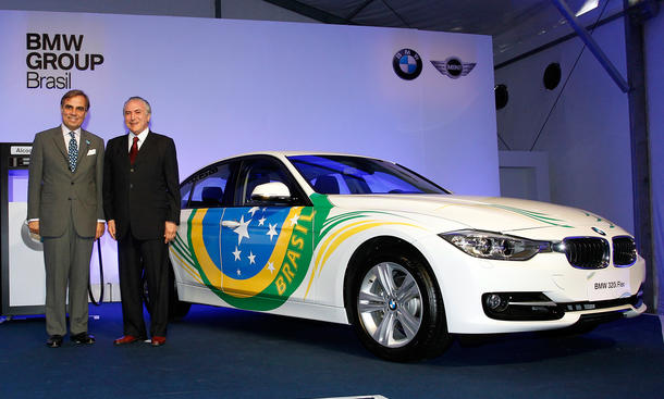 BMW Brasilien Produktion Werk Araquari