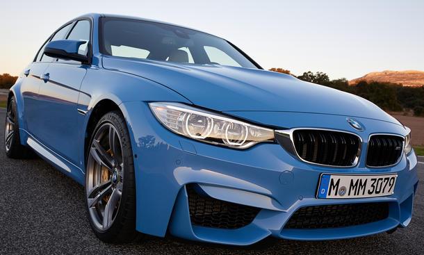 BMW M4 2014 Detroit Auto Show Coupe M3 Limousine