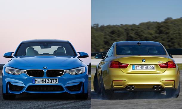 BMW M3 2014 Preis M4 Coupe Preise Euro Limousine Sportwagen Mittelklasse