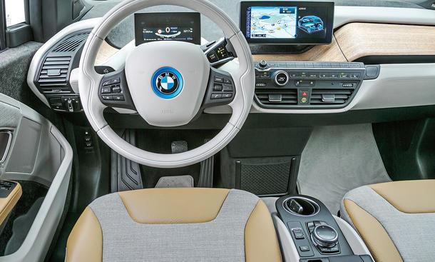 Bilder BMW i3 Range Extender Elektroauto Vergleichstest Design