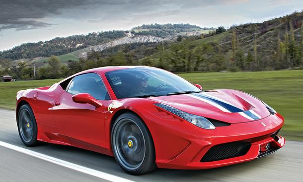 Bilder Ferrari 458 Speciale Exklusiv