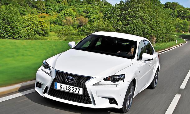 Bilder Lexus IS Kaufberatung Mittelklasse-Bestseller Neuzulassungen
