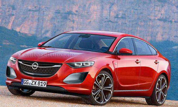 Bilder Neuheiten Mittelklasse Limousinen Opel Insignia II