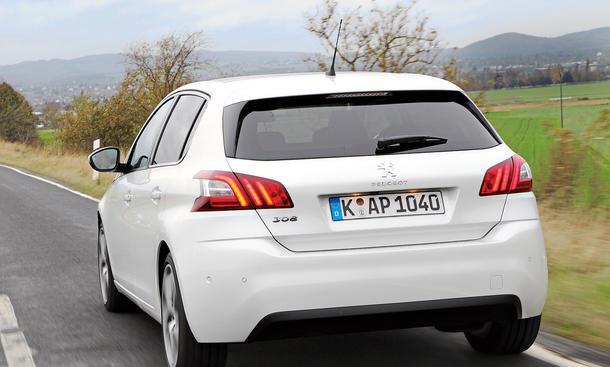 Bilder Peugeot 308 155 THP Kompaktklasse