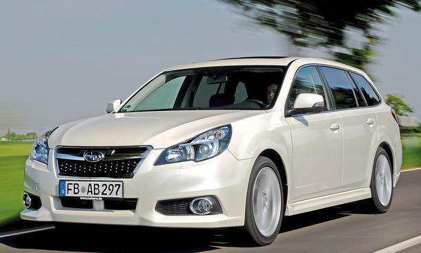 Bilder Subaru Legacy Kaufberatung Mittelklasse-Bestseller Neuzulassungen