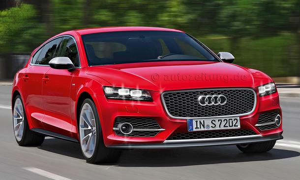 Bilder VW-Konzern Neuheiten Audi A6 Shooting Brake