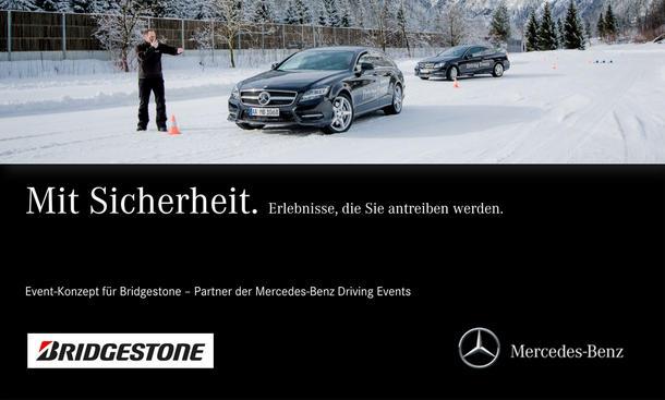 Gewinnspiel 2014 Bridgestone Winter Event Fahrt