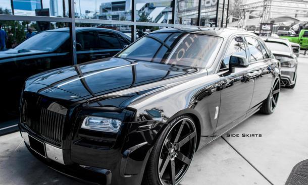DMC Rolls-Royce Ghost Tuning Bodykit Leistungssteigerung Luxuslimousine