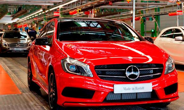 Daimler Absatz 2013 Mercedes Verkaufszahlen weltweit