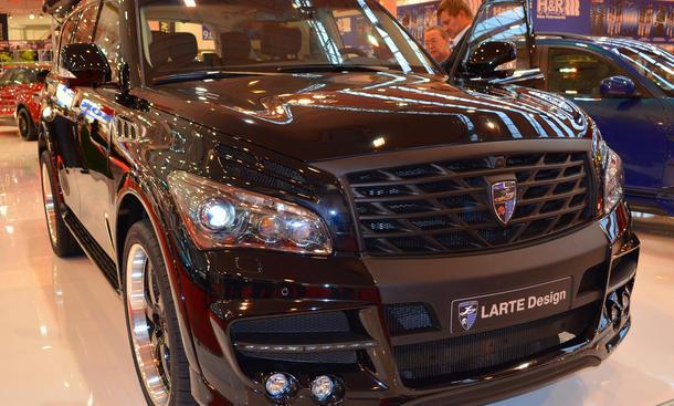 Larte Infiniti QX80 2014 Tuning SUV Design QX56