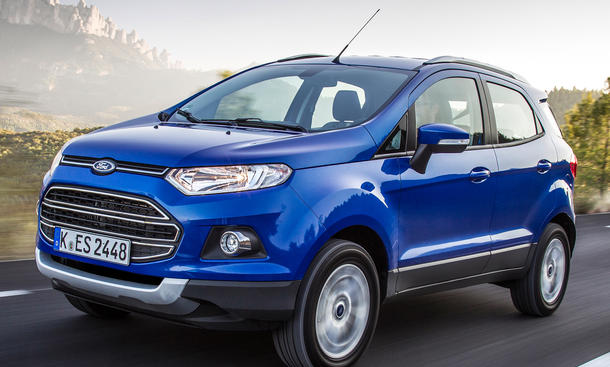 Ford EcoSport Preis 2014 Martkstart SUV Preise Motoren Technik