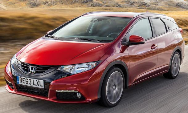 Honda Civic Tourer 1.6 i-DTEC Fahrbericht Bilder technische Daten