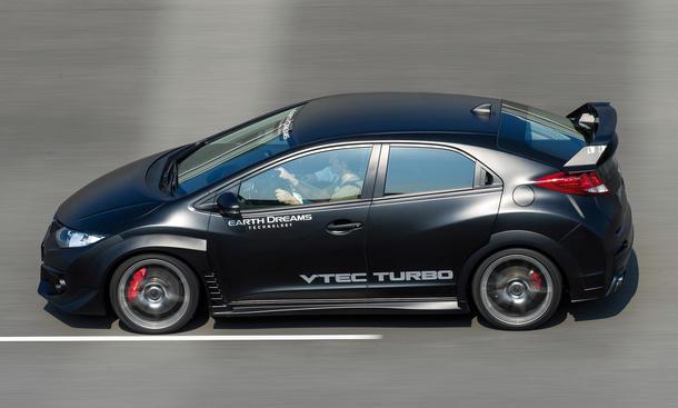 Honda Civic Type R Fahrbericht Bilder technische Daten