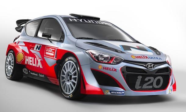 Hyundai i20 WRC 2014 Rallye Motorsport Bilder