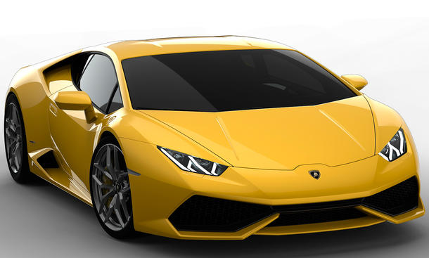 Lamborghini Huracan 2014 Genfer Autosalon LP 610-4