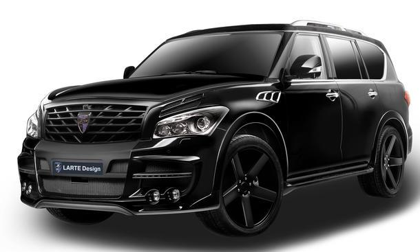 Infiniti Suv Qx56 Black