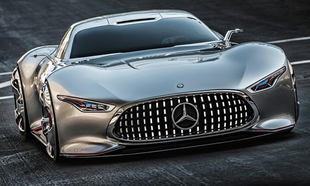 Mercedes AMG Vision Gran Turismo Bilder Konzept Studie