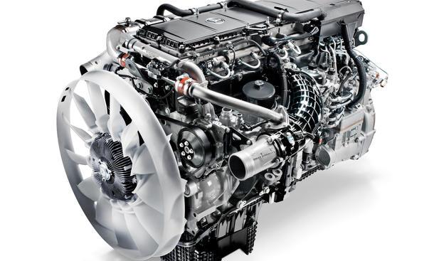 Mercedes Diesel Motor OM 473 Reihensechszylinder Arocs