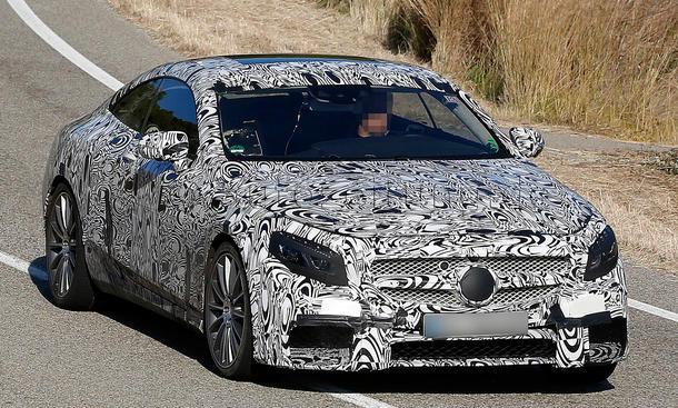 Mercedes S 63 AMG Coupe 2014 Erlkoenig S Klasse Luxusklasse CL-Nachfolger