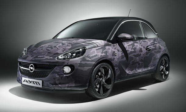 Opel Adam Bryan Adams Sondermodell 2013 Stars Cars