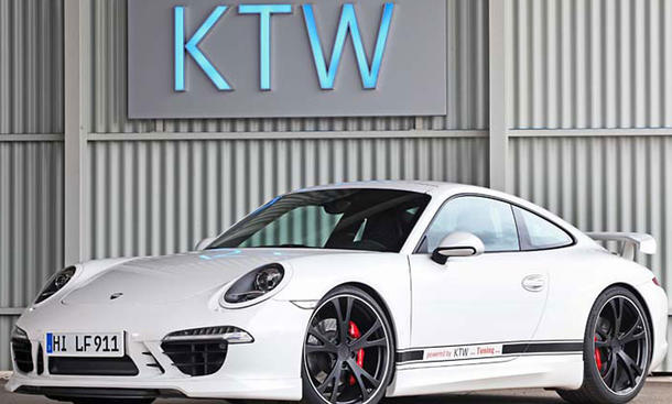 Porsche 911 Carrera S KTW Tuning 991 Bodykit Bilder