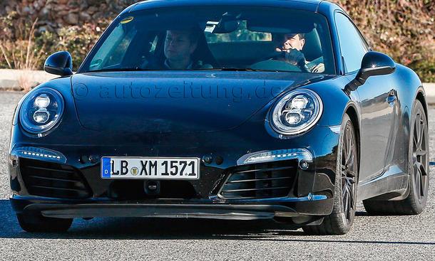 Porsche 911 GTS 2014 Erlkoenig 991