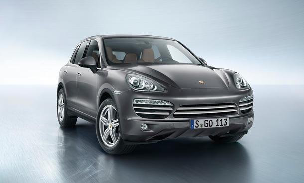 Porsche Cayenne Platinum Edition Sondermodell Diesel Preis 2014 Bilder