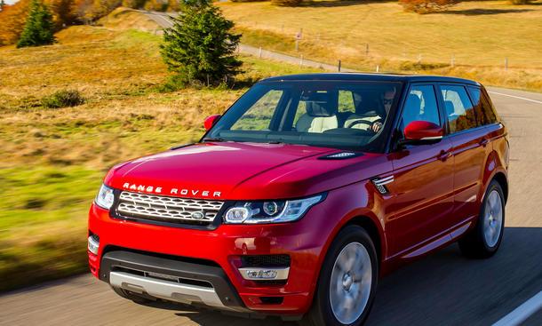 Range Rover Sport 4.4 SDV8 Fahrbericht Bilder technische Daten
