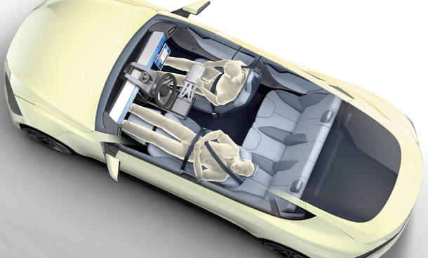 Rinspeed XchangE Elektroauto Autosalon Genf 2014 Bilder