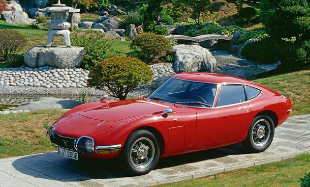 Toyota 2000 GT Bilder technische Daten Oldtimer Ikonen