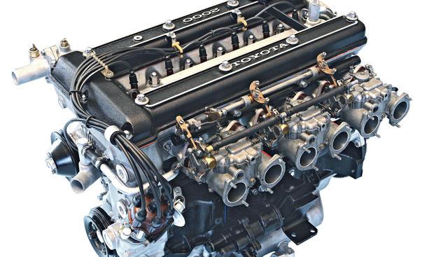 Toyota 2000 GT Reihensechszylinder Bilder Motor