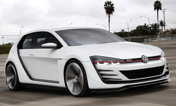 VW Golf Design Vision GTI Bilder Fahrbericht Coupe Sportwagen