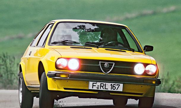 Alfa Romeo Alfasud Sprint Kaufberatung Bilder technische Daten