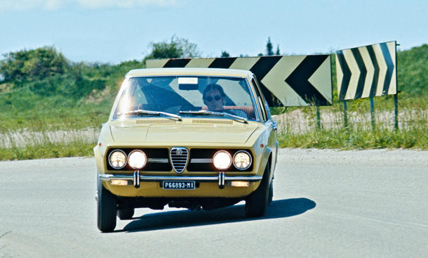 Alfa Romeo Alfetta Oldtimer Bilder technische Daten