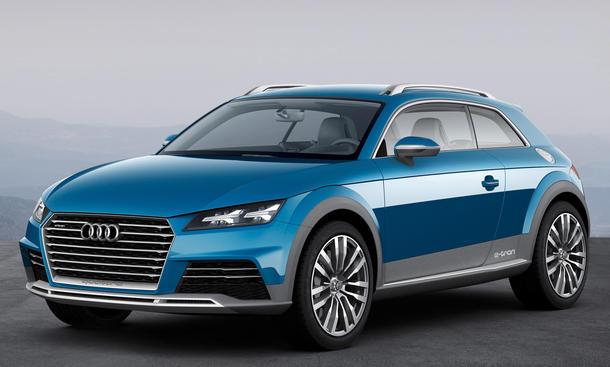Audi Allroad Shooting Brake 2014 Detroit Auto Show TT Vorschau