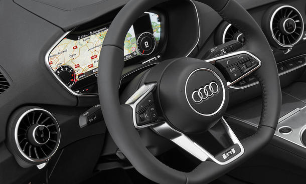 audi tt 2014 virtual cockpit und neues mmi enth llt. Black Bedroom Furniture Sets. Home Design Ideas